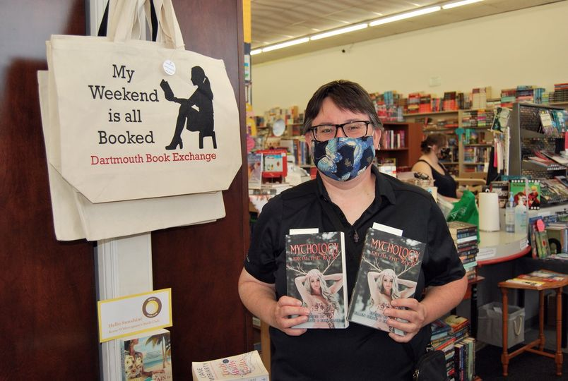 Me at the Dartmouth Book Exchange