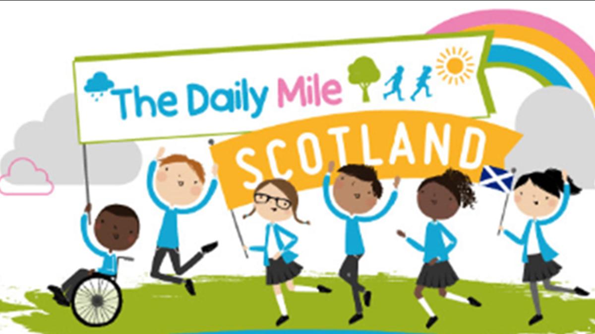 The Daily Mile Scotland (logo)
