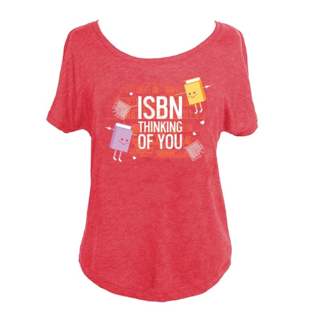 ISBN Thinking of You T-shirt