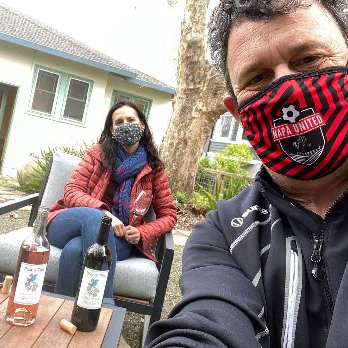 Dan with Rebekah Wineburg Post & Vine