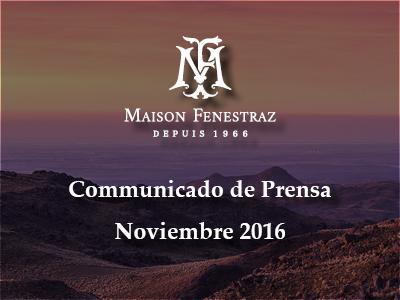 Comunicado de Prensa Novimbre 2016