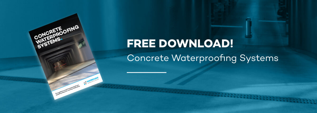 Markham concrete waterproofing systems