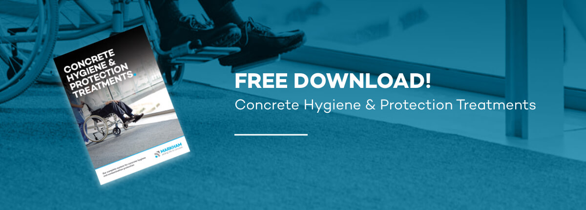 Markham concrete hygiene and protection treatments
