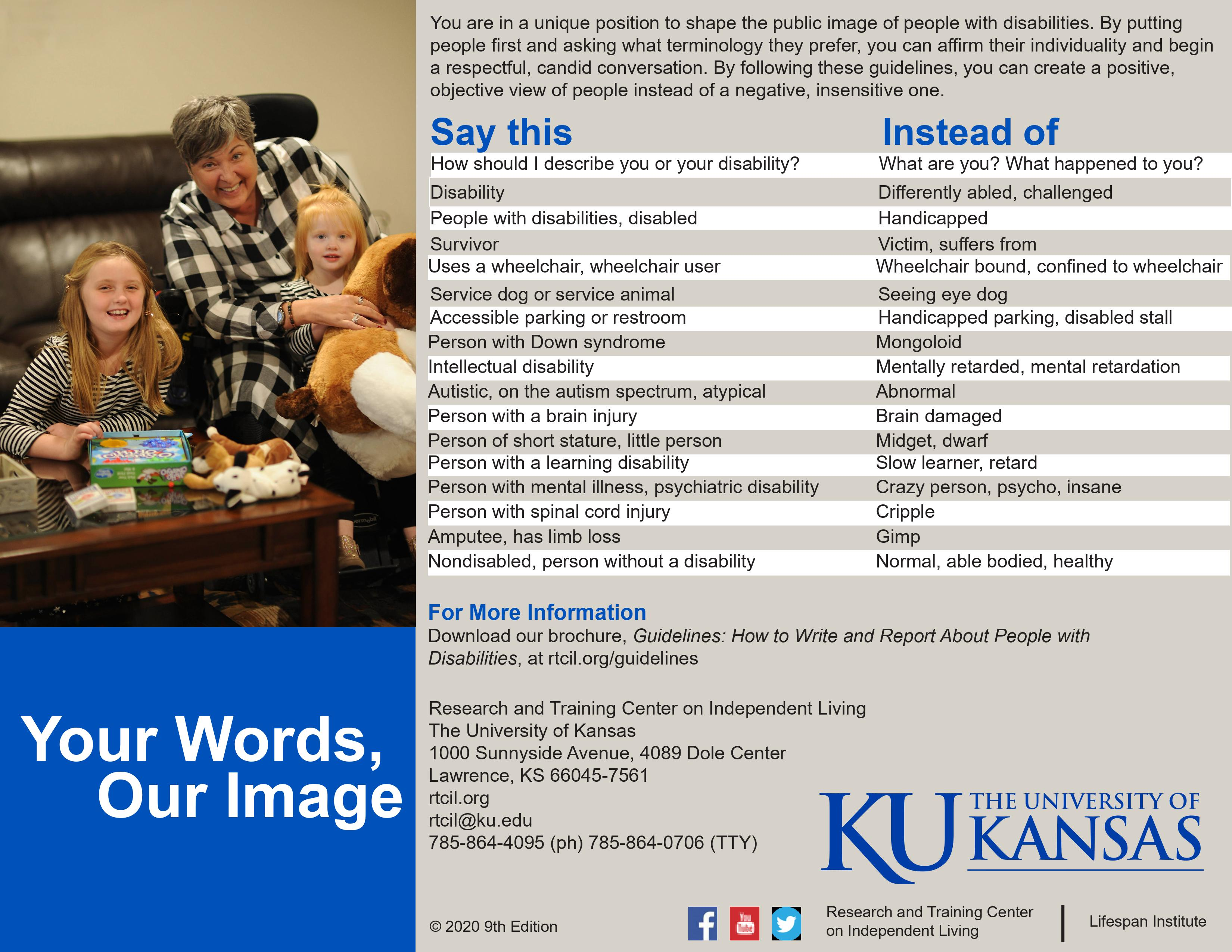 """Preview of the """"Your Words, Our Image"""" Poster"""
