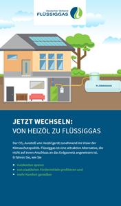 """Broschüre """"Jetzt wechseln: Von Heizöl zu Flüssiggas"""""""