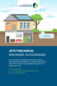 Flyer: Jetzt wechseln - von Heizöl zu Flüssiggas