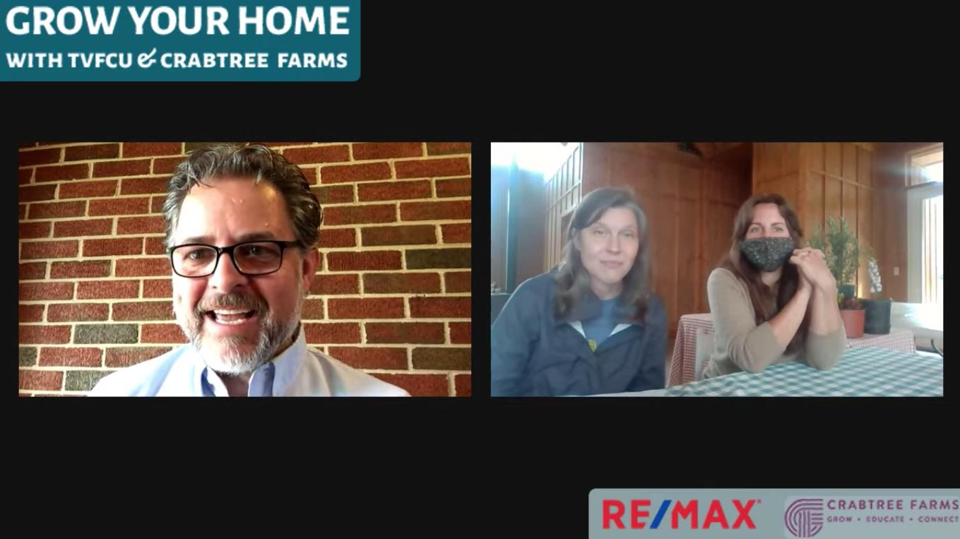 Screenshot from Grow Your Home virtual seminar