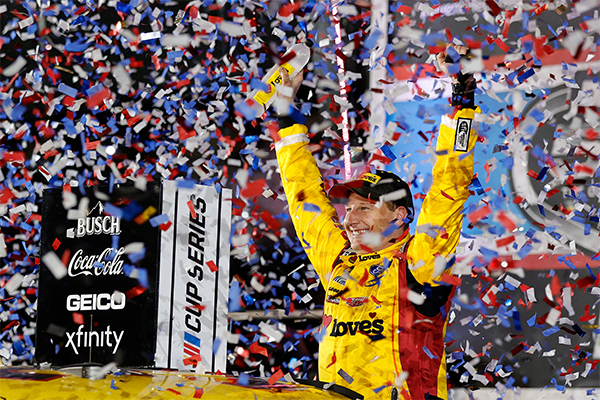 Michael McDowell, from Front Row Motorsports, won his first Daytona 500. #NASCAR