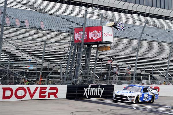After a disappointing run on Saturday, Chase Briscoe called his shot, saying he would win Sunday's NASCAR Xfinity race at Dover.