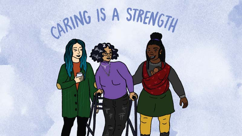 Caring is a strenght