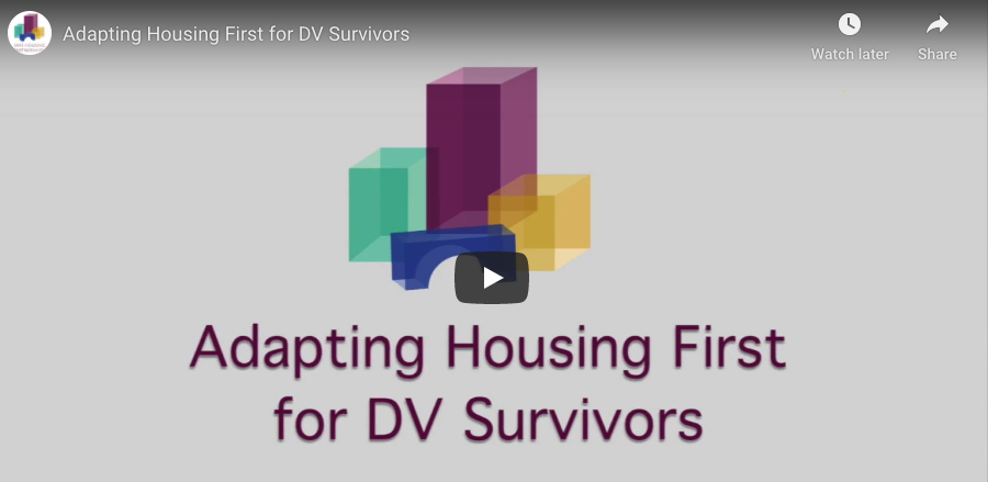 Adapting Housing First for DV Survivors