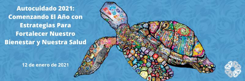 tortuga marina colorida