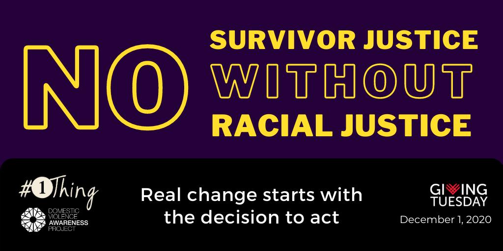 No survivor justice without racial justice