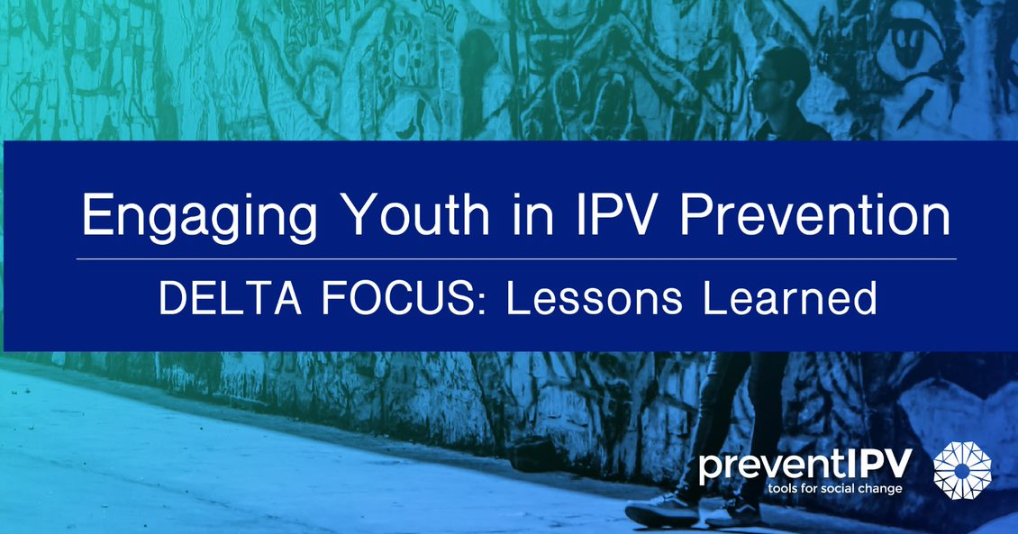 Engaging Youth in IPV Prevention