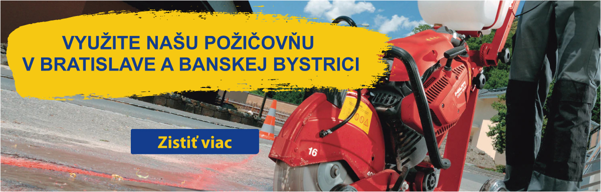 Požičovňa v Bratislave a Banskej Bystrici