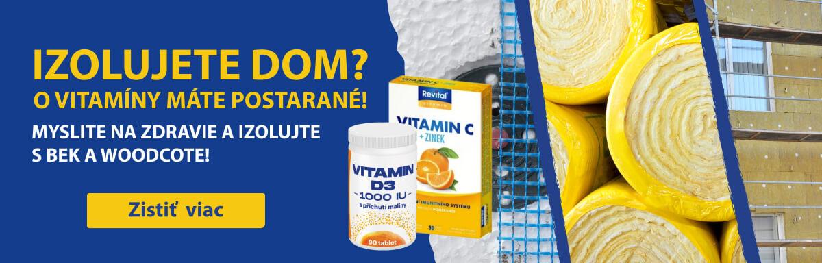 Získajte balíček vitamínov