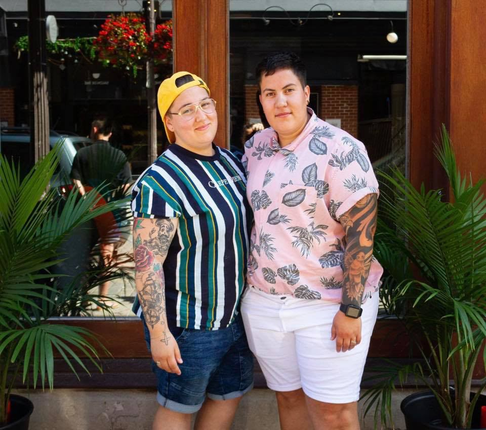 Ariane et Carolina - propriétaires du Tequila Lounge Quebec