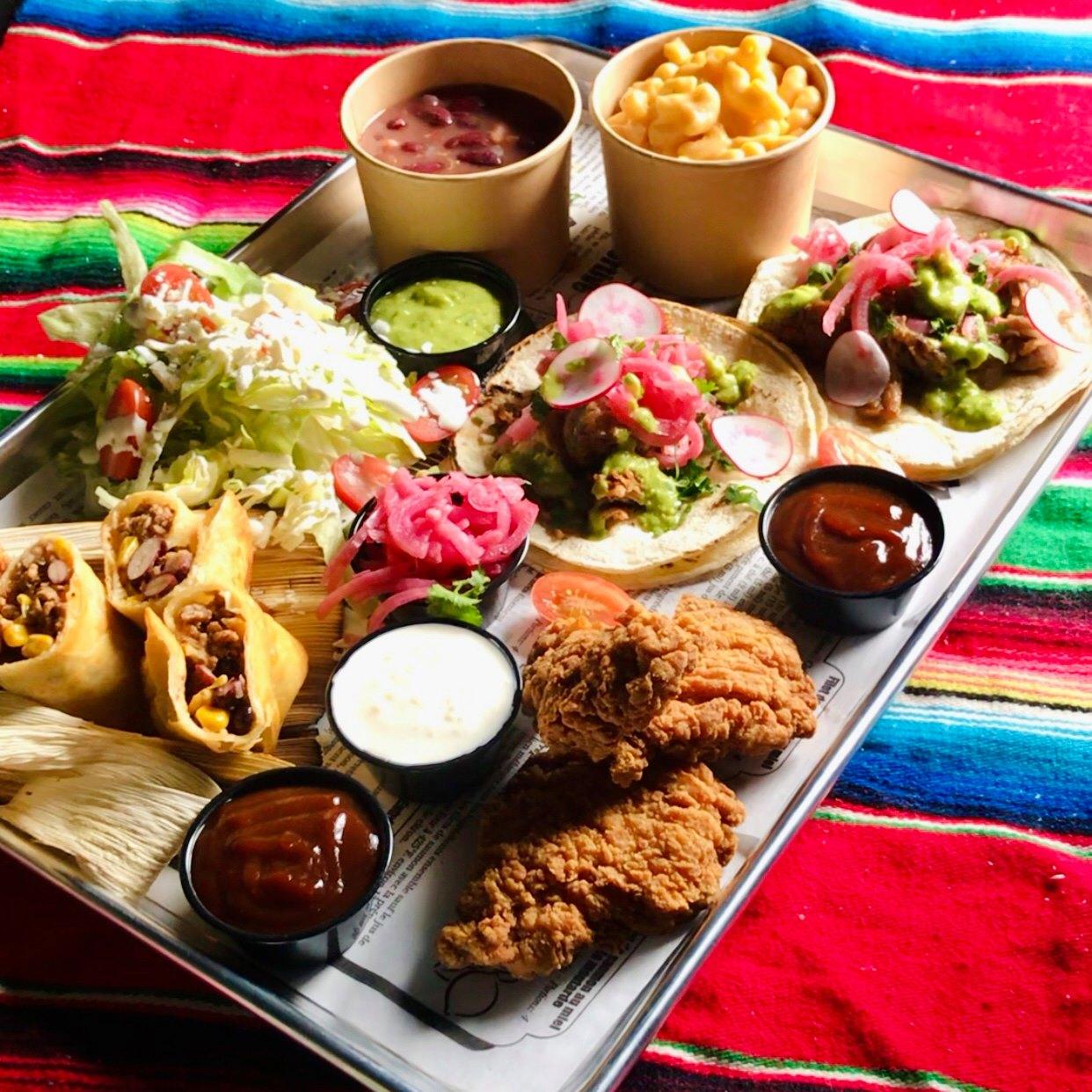 menu pour 2 mexicain - Tequila Lounge Quebec