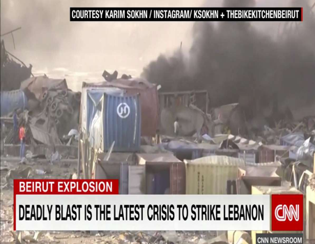 Deadly blast is the latest crisis to strike Lebanon
