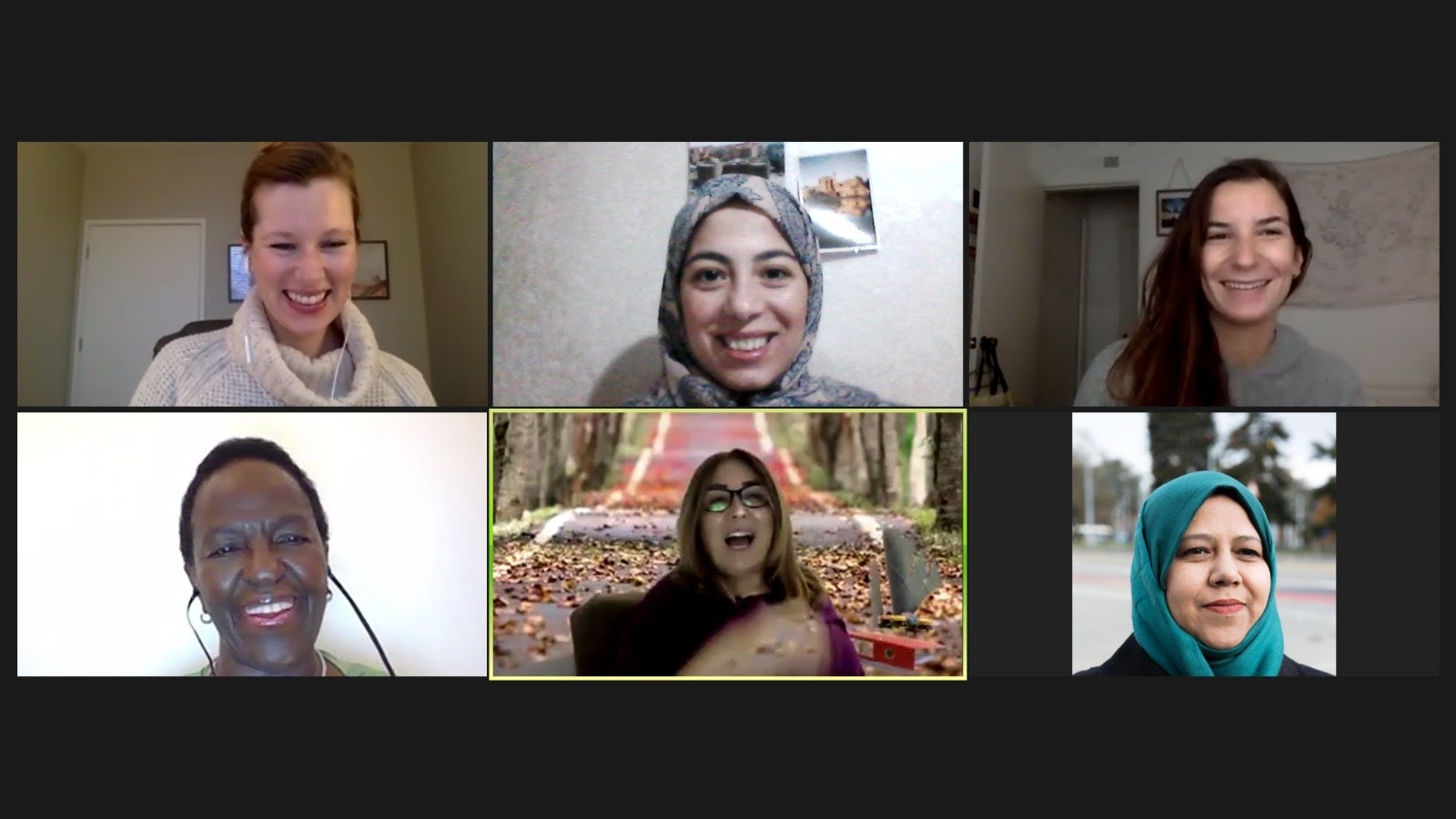 Zoom Call with WPM Fellows
