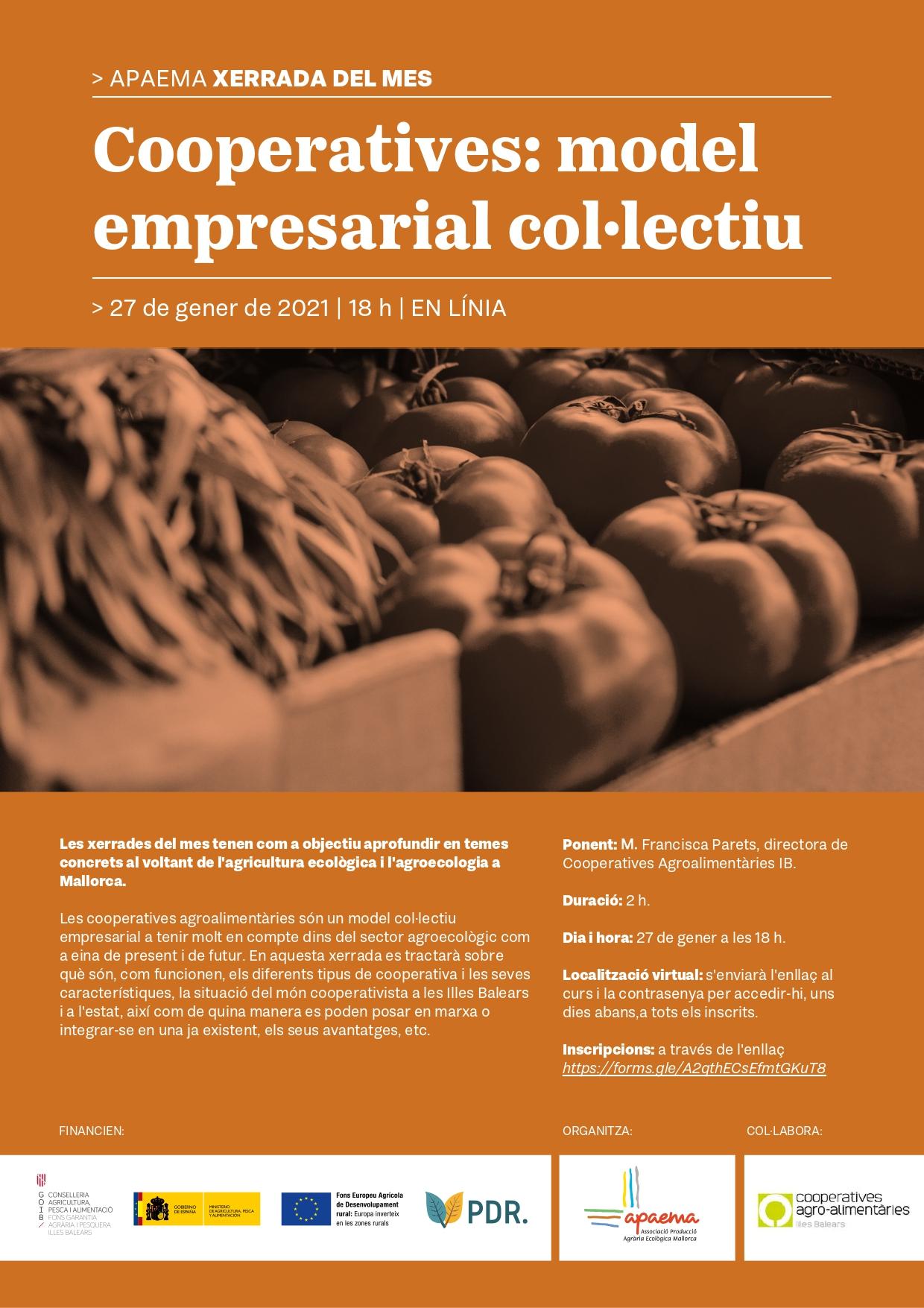 Cooperatives: model empresarial col·lectiu (27-01-21)
