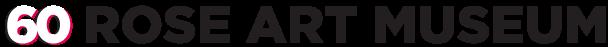 Rose Art Museum 60th Anniversary Logo