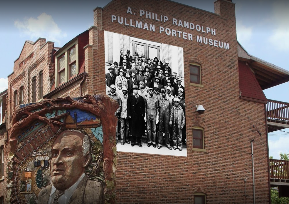 Exterior of the A Philip Randolph Pullman Porter Musuem