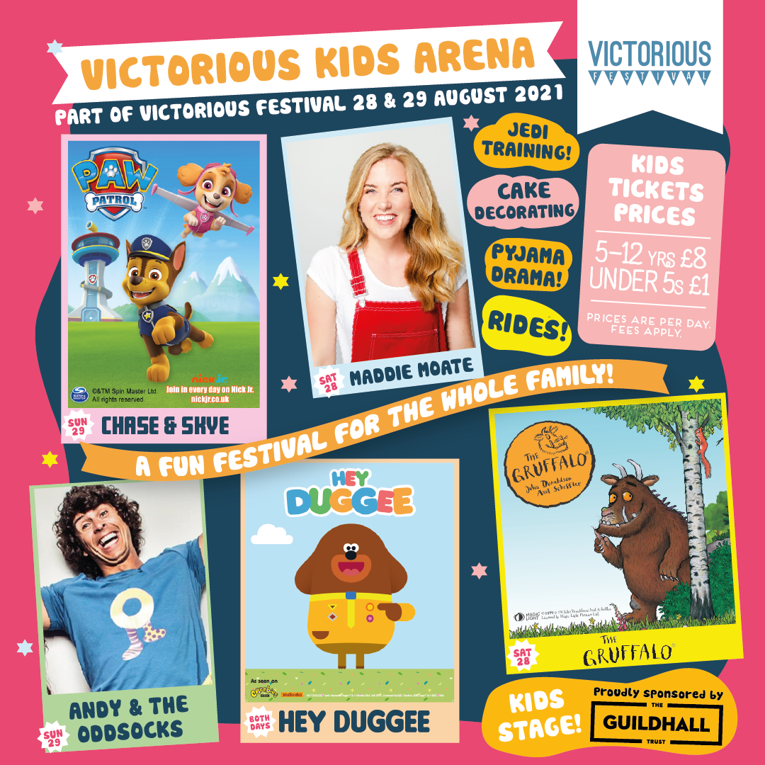 Victorious Festival: Kids Arena Announced! 2