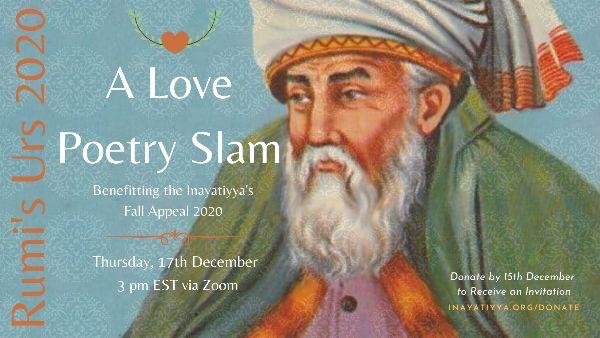 Rumi's Urs 2020: A Love Poetry Slam