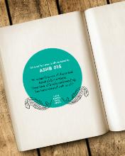 Image: Book Dedication Sticker