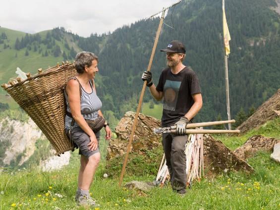 Les paysans de montagne cherchent 1000 bénévoles