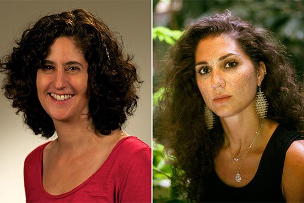 Emily Laber-Warren and Alia Malek