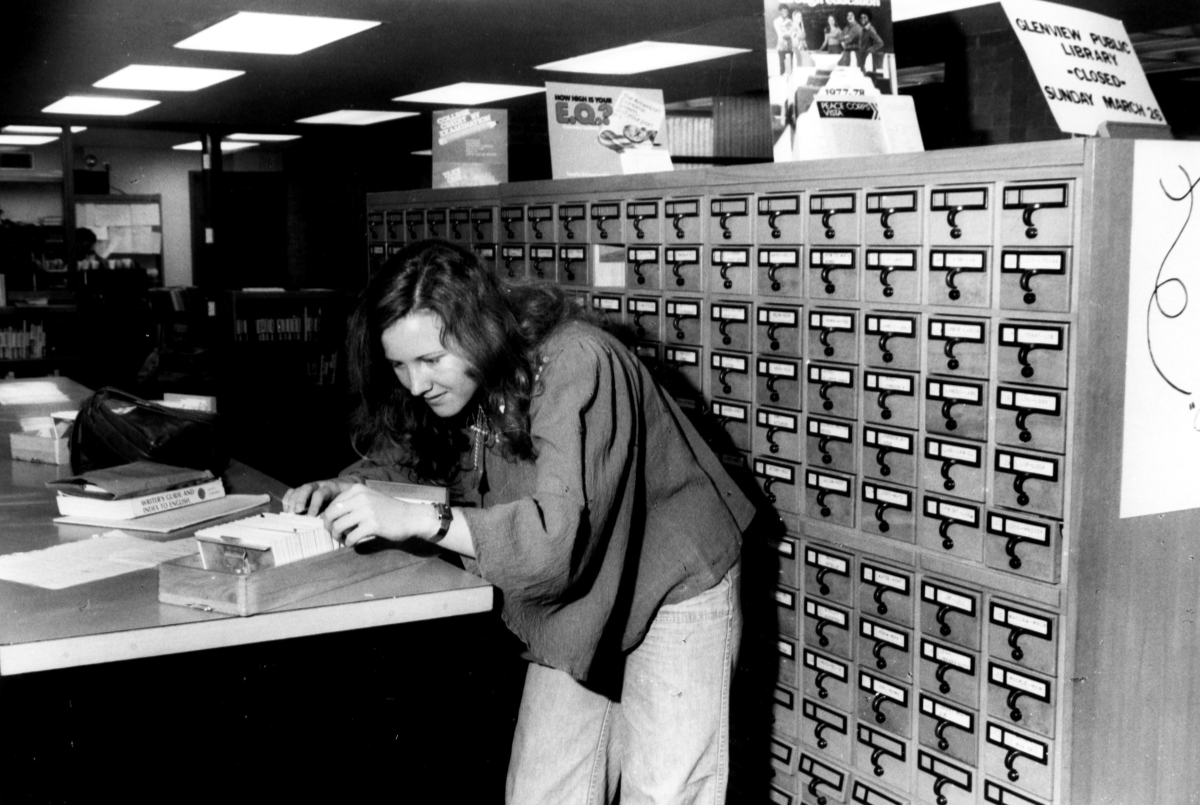 1990 - Welcome to the future: CLSI is installed and the card catalog is replaced.