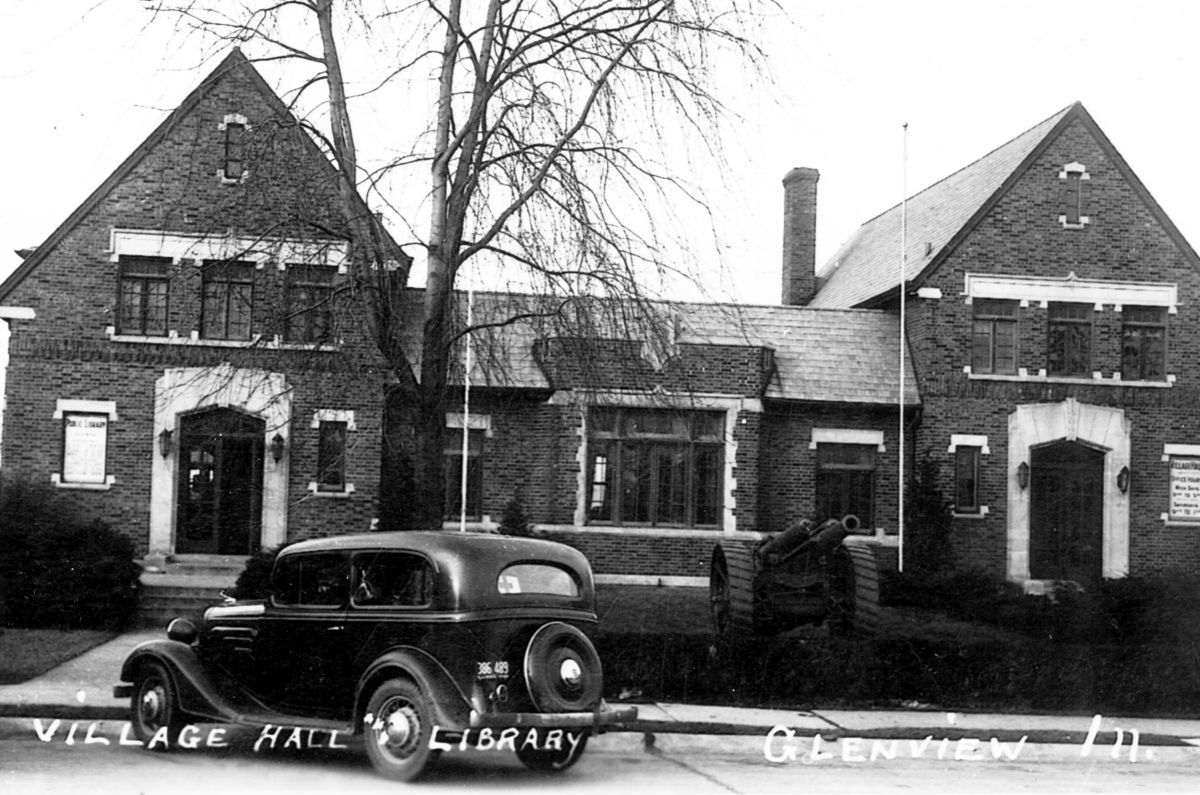 March 2, 1931 - GPL opens in the basement of historic Village Hall on Prairie Street, housing only 398 books.