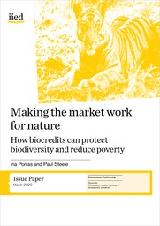 Making the market work for nature