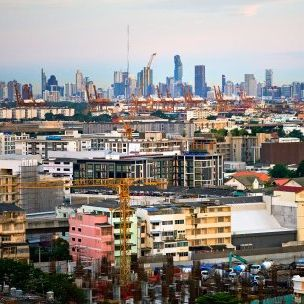 Thailand is one of many nations transforming from a predominantly rural country to an increasingly urban one. Bangkok has a population of more than 9 million, or close to 13% of the country's population (Photo: Bryon Lippincott via Flickr, CC BY-ND 2.0)