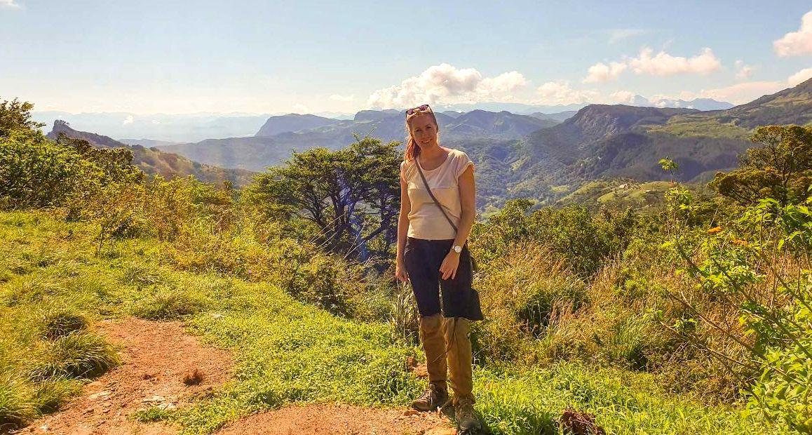 Rianne in Sri Lanka