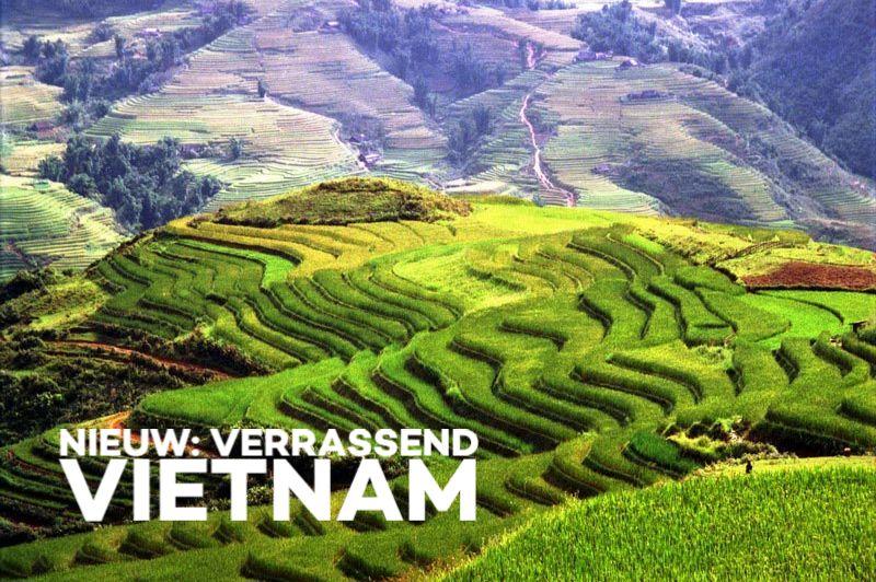Rijstterrassen Vietnam