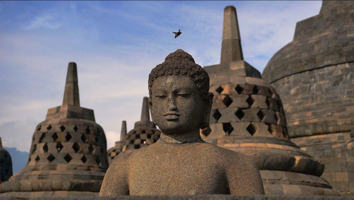 Borobudur op Java