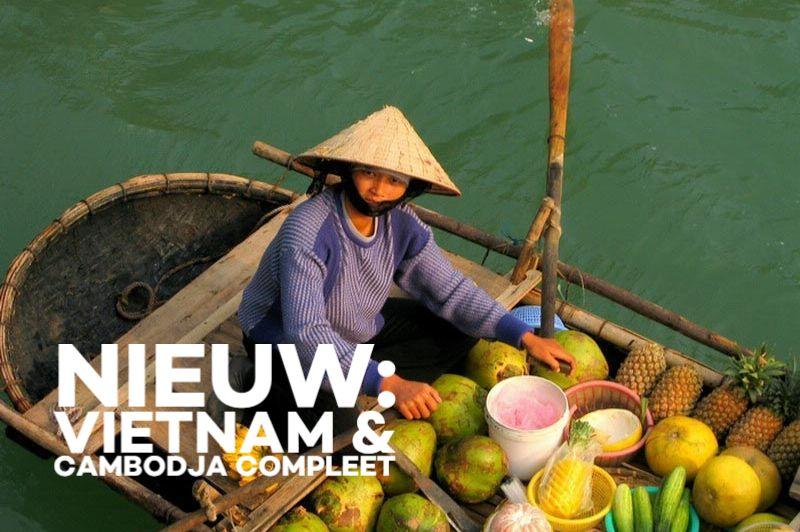 Drijvende markt - Vietnam