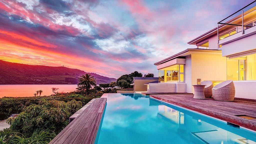 Zwembad van Amanzi Island Lodge