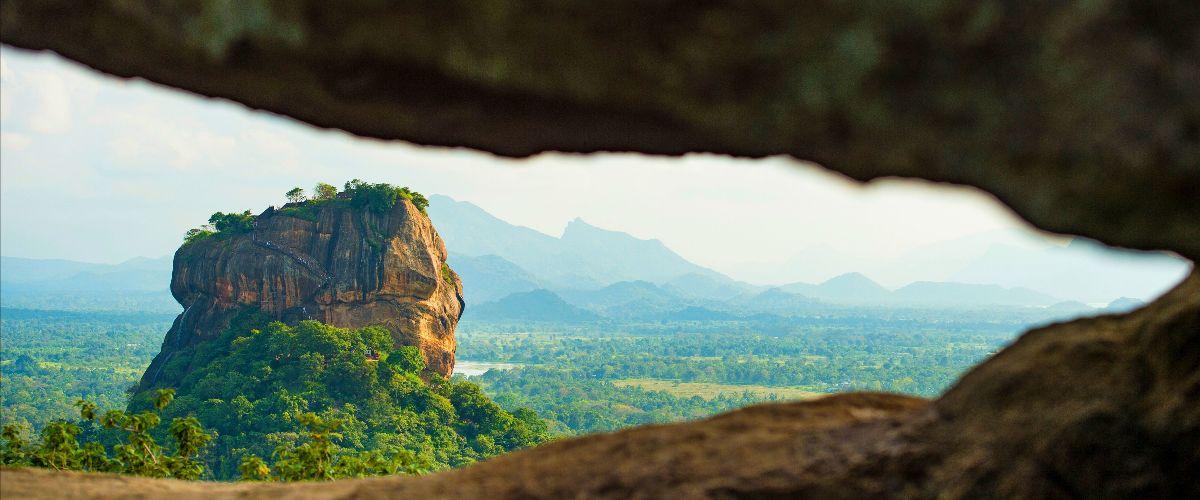 Lion's Rock in Sri Lanka
