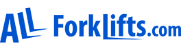 All Forklifts.com Logo Blue