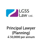 LGSS Law - Principal Lawyer Planning