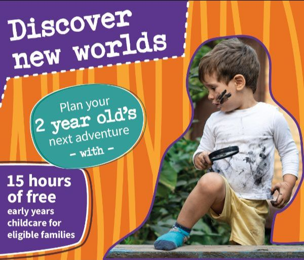 Discover new worlds - plan your 2 year old's next adventure