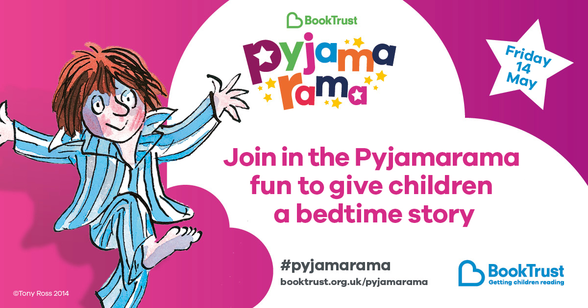 Pyjamarama event from Booktrust