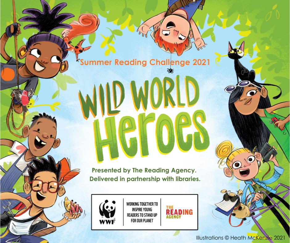 Summer Reading Challenge for Children 2021
