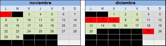 calendario curso pice