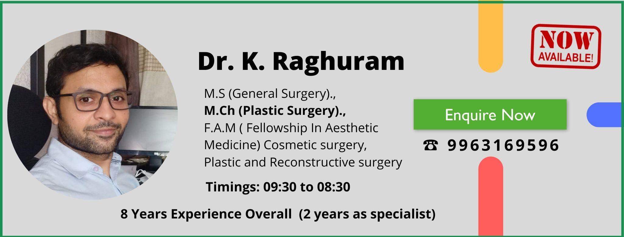 dr k raghuram