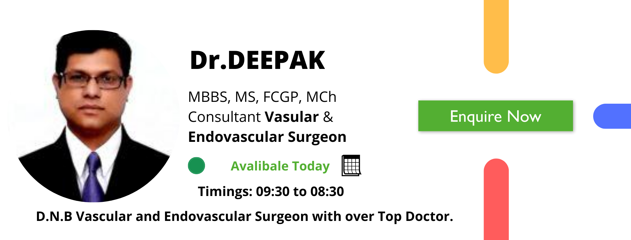 Dr.DEEPAK varicose veins treatment